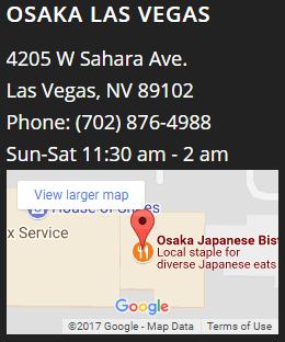 Visit Osaka Las Vegas