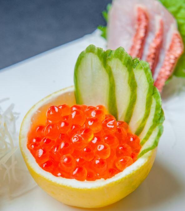 ikura fresh sashimi roe